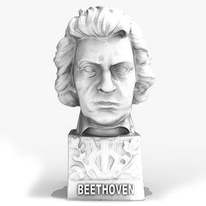 scan beethoven 3D model