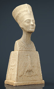 3D egyptian figure 4
