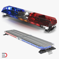 Legacy Lightbars 3D Models Collection