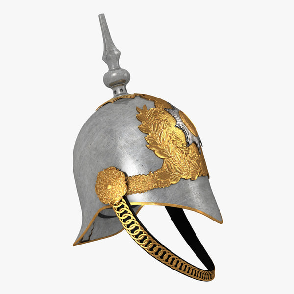 3D british life guard cavalry model