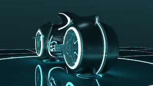 tron lightcycle cycles 3D model