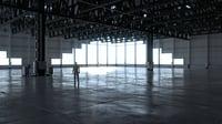 Warehouse Interior 4 - No Textures