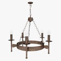 old chandelier model