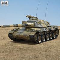 amx amx-30 30 3D model