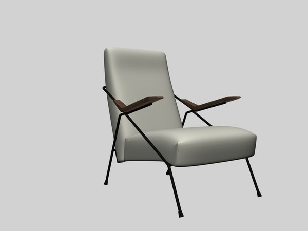 armchair pierre 3D model