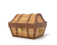 old wooden chest 3D model