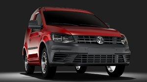 3D volkswagen caddy onemanvan