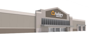retail furniture ashley 3D model