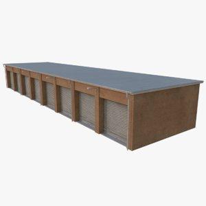 3D model storage units 3