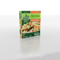 Frozen Food Packaging - Rice Pilaf