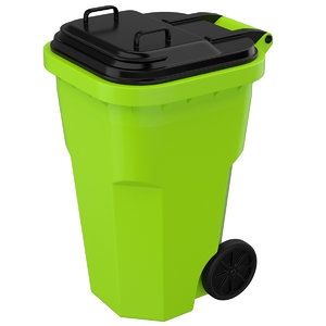 3D model garbage container 1