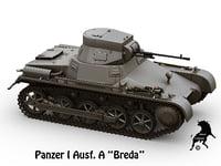 3D panzer breda