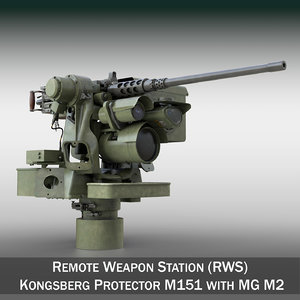 rws protector m151 m2 3D