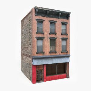 3D ready apartment house model