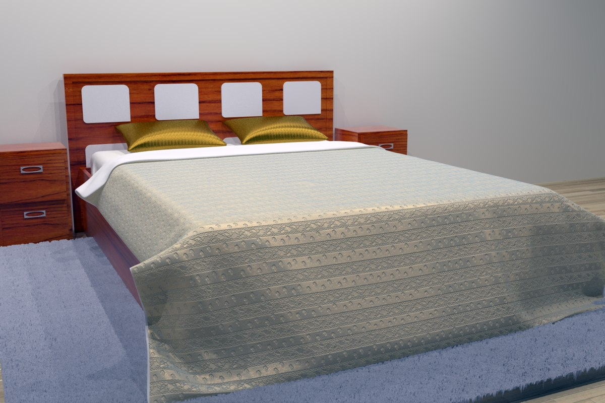 3D bed combo 2 color