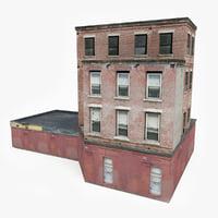 3D ready industrial building model