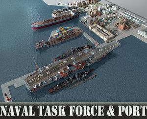 3D port task force