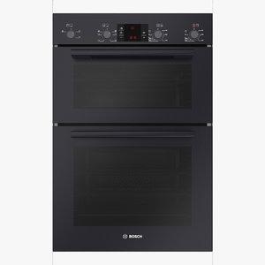 oven built-in black 3D model