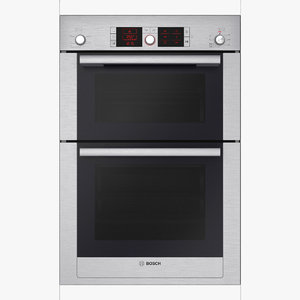 3D oven built-in brushed