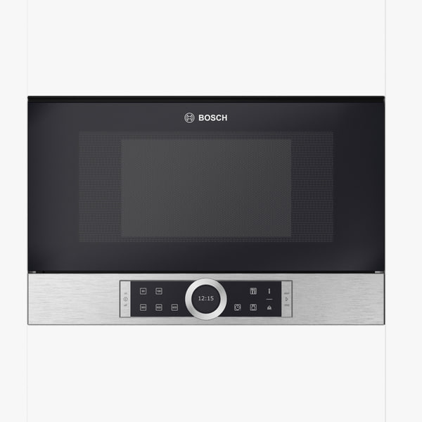 3D microwave built-in brushed