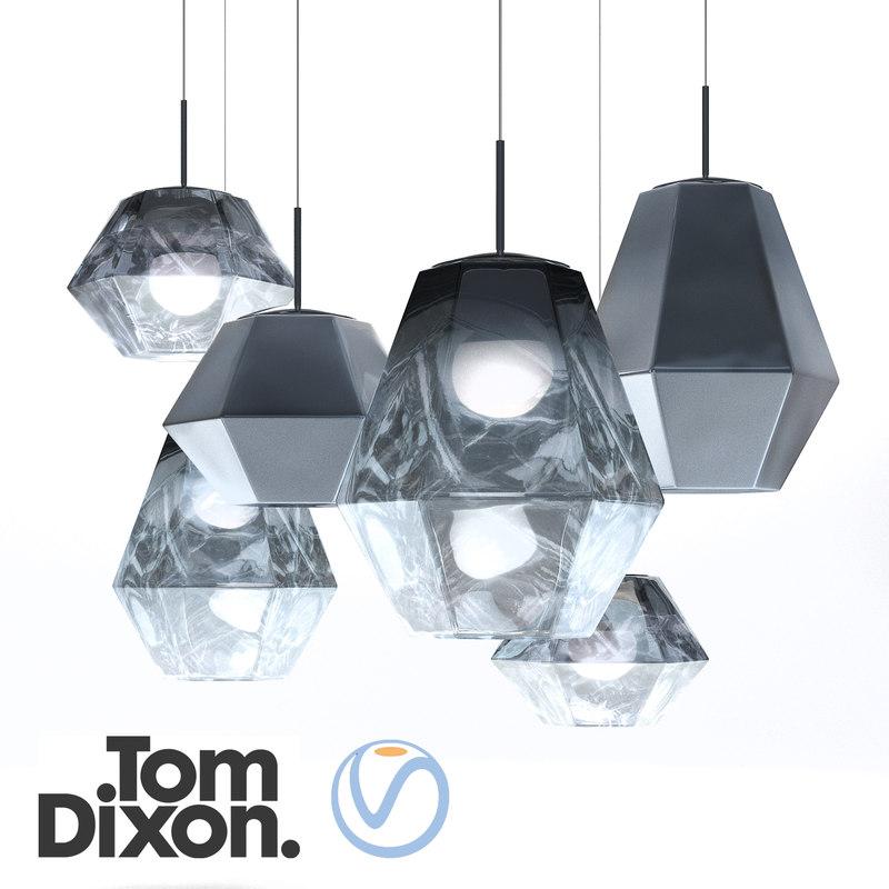 cut lamp tom dixon 3D model