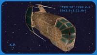 Space Ship Patriot Type 2.1 (Se1.Sc1.C1.Br)