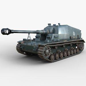 3D tank 10 5 cm