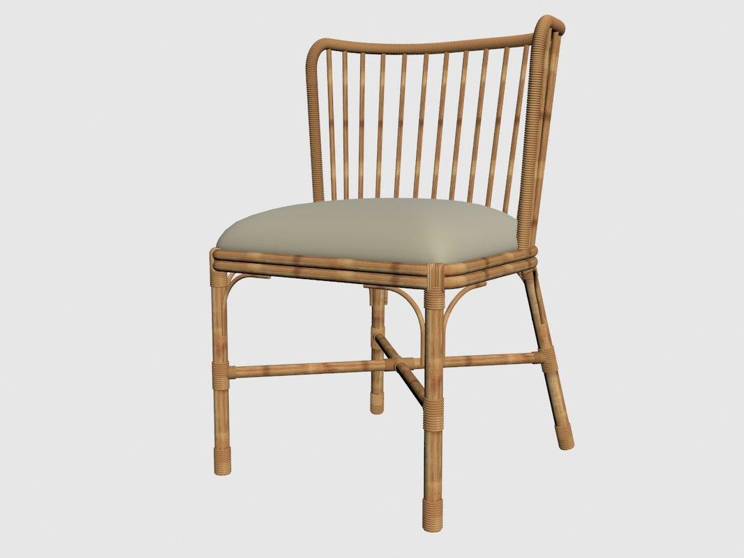 3D coastal tarakan chair