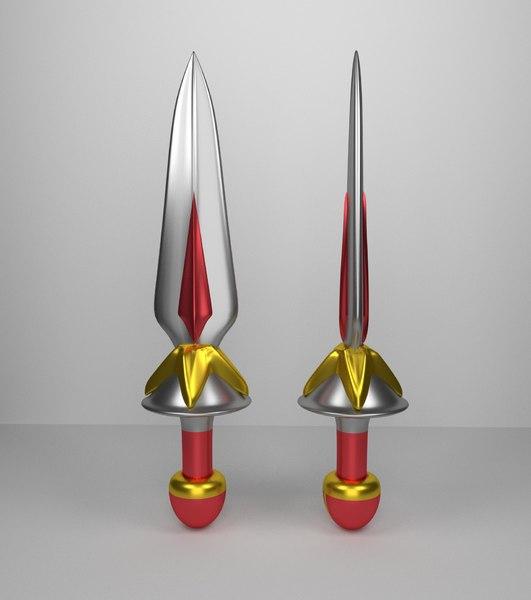 3D basic sword