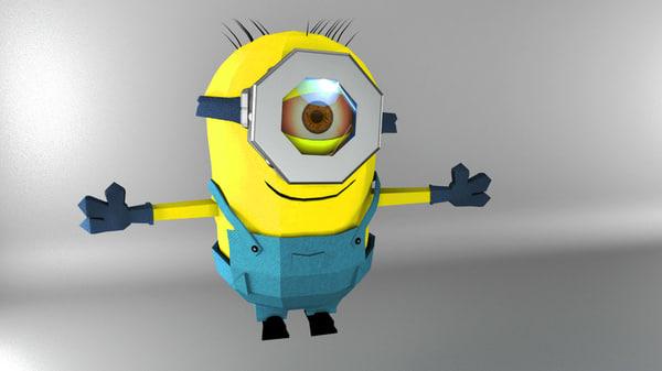 minion despicable model