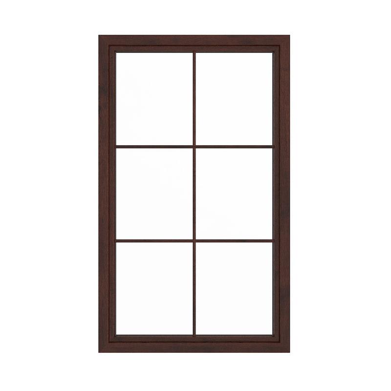 wooden window 143 5 3D