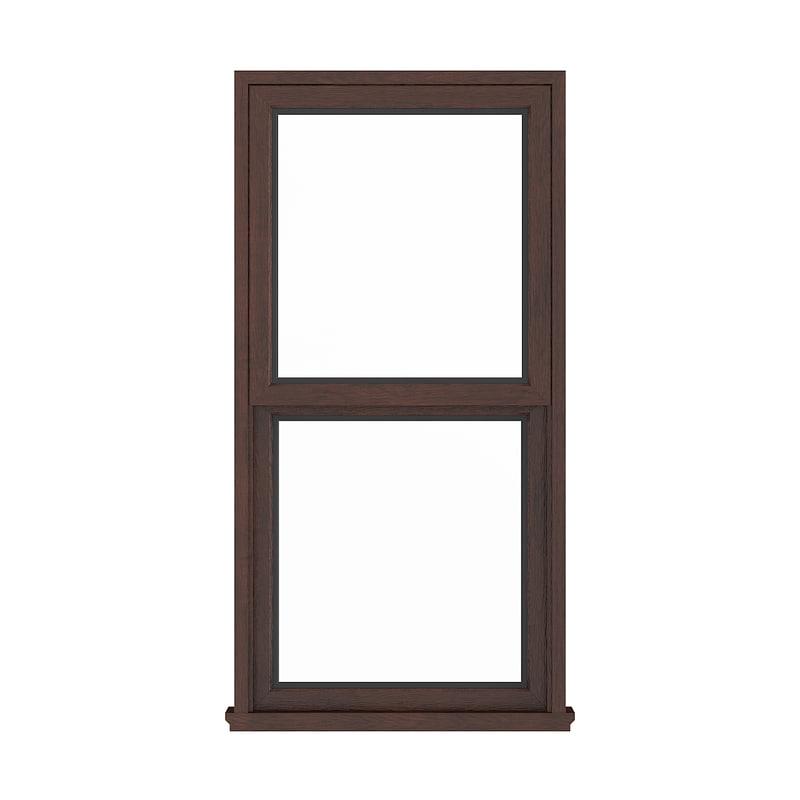 wooden window 143 5 3D model