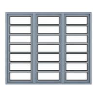 3D metal window 268 x