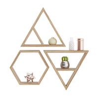 3D wooden wall decorations model