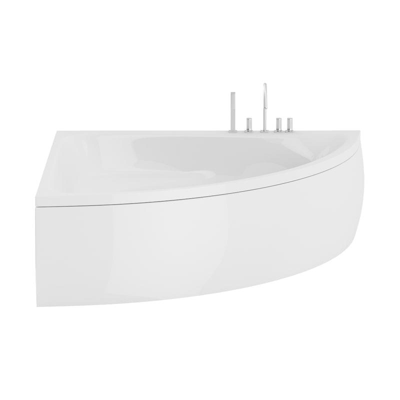 large corner bath 3D model
