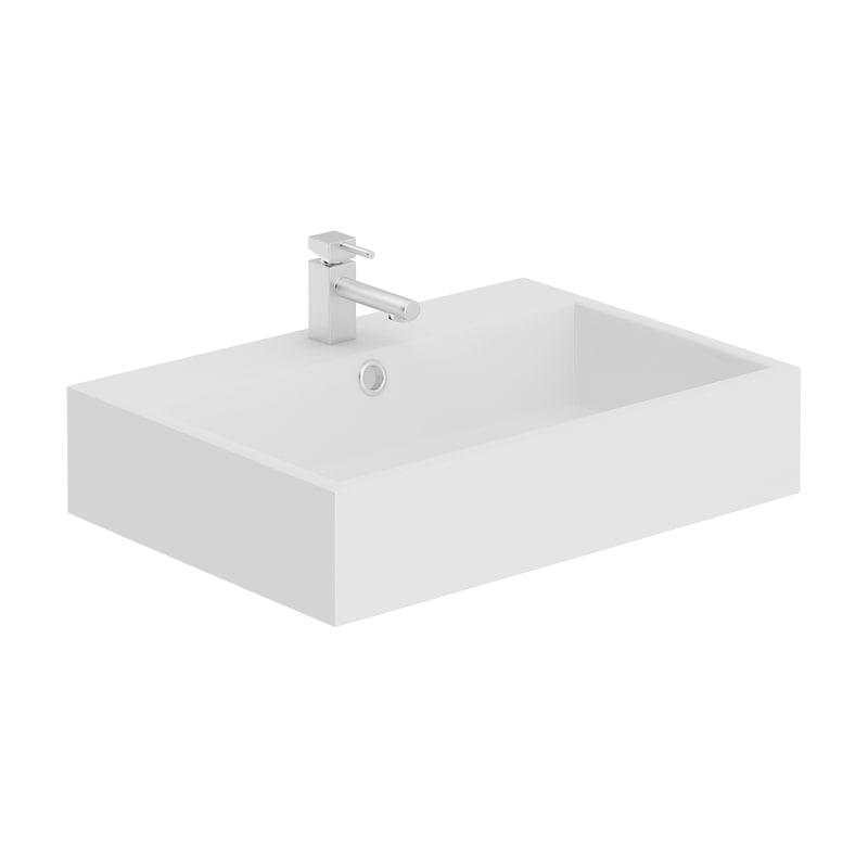 rectangular washbasin 3D model