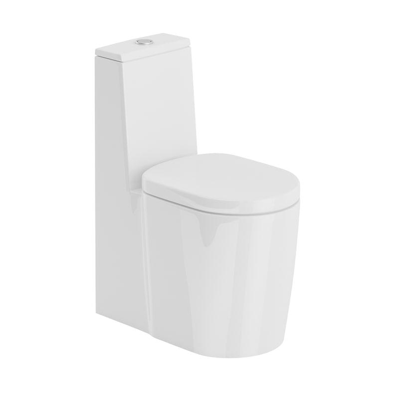 3D model floor standing toilet