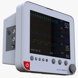 3D patient monitoring