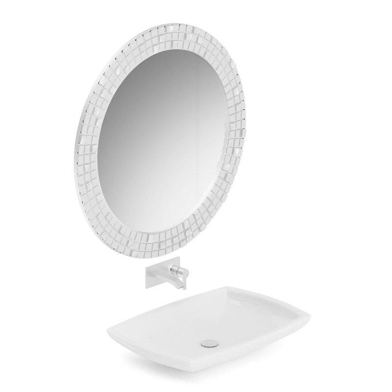 washbasin mirror 3D