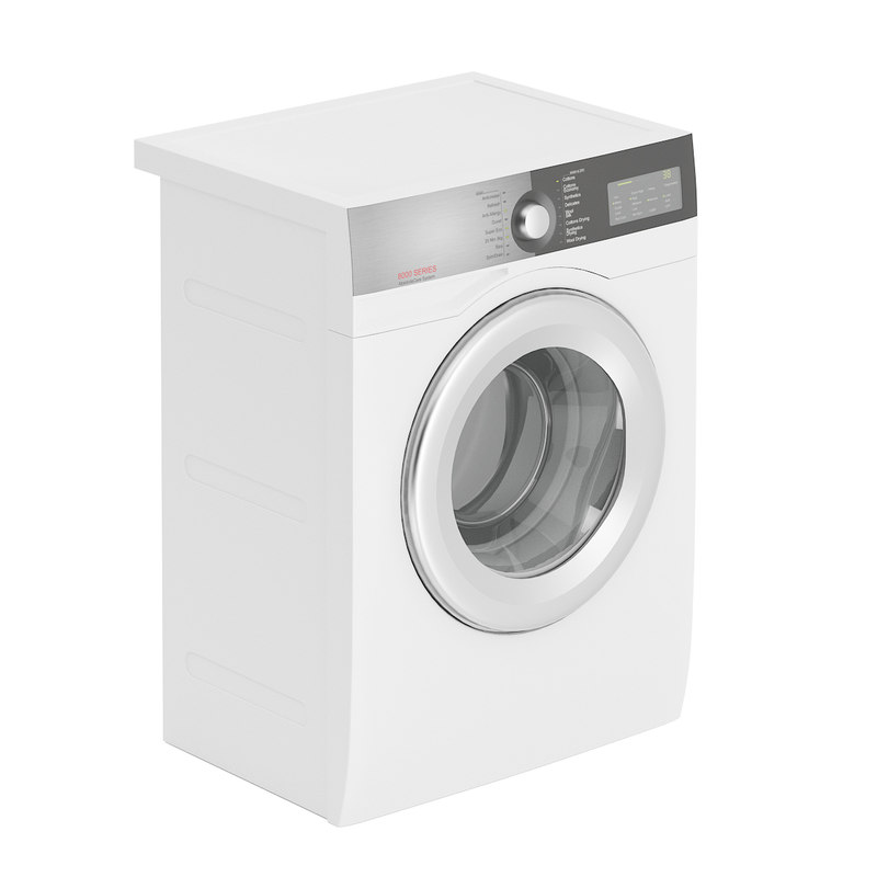 3D model white washing