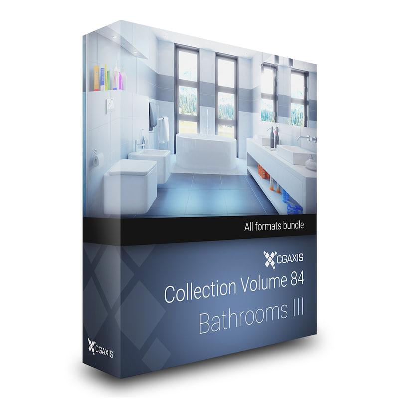 volume 84 bathrooms iii 3D