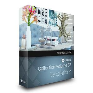 volume 83 decorations 3D model