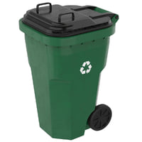 garbage container 1 model