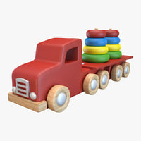 toy truck 3D