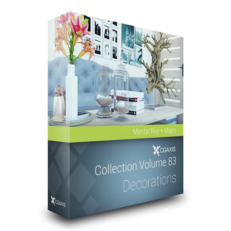 3D volume 83 decorations