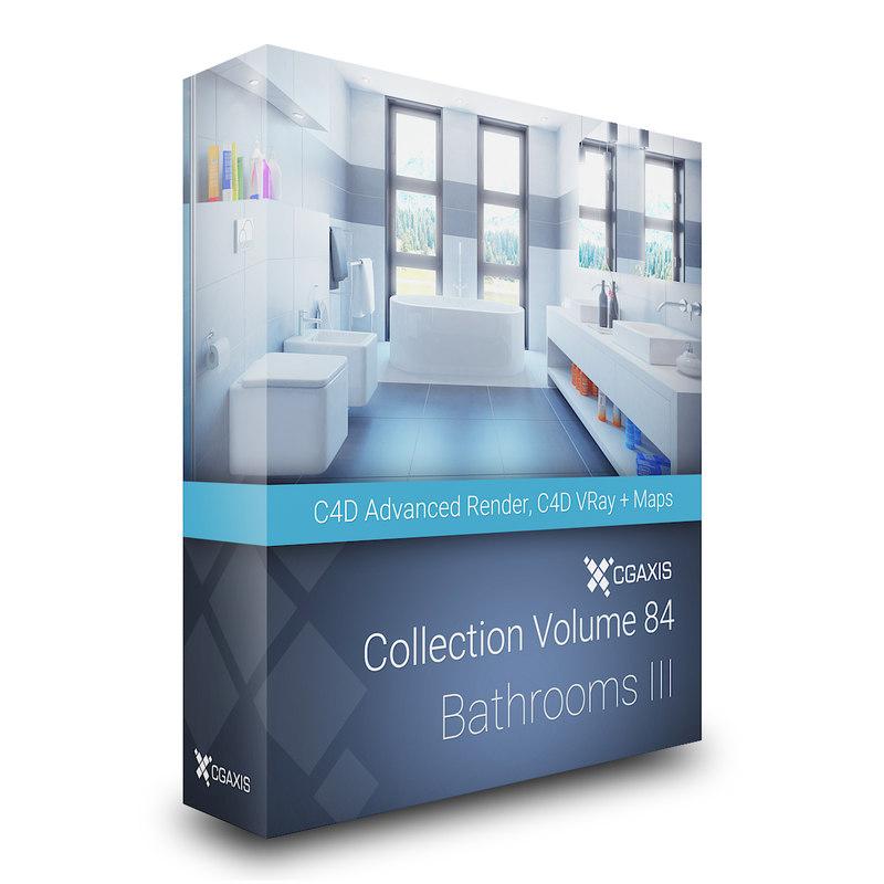volume 84 bathrooms iii 3D model