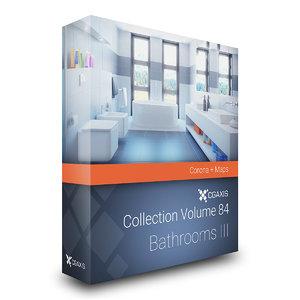3D model volume 84 bathrooms iii