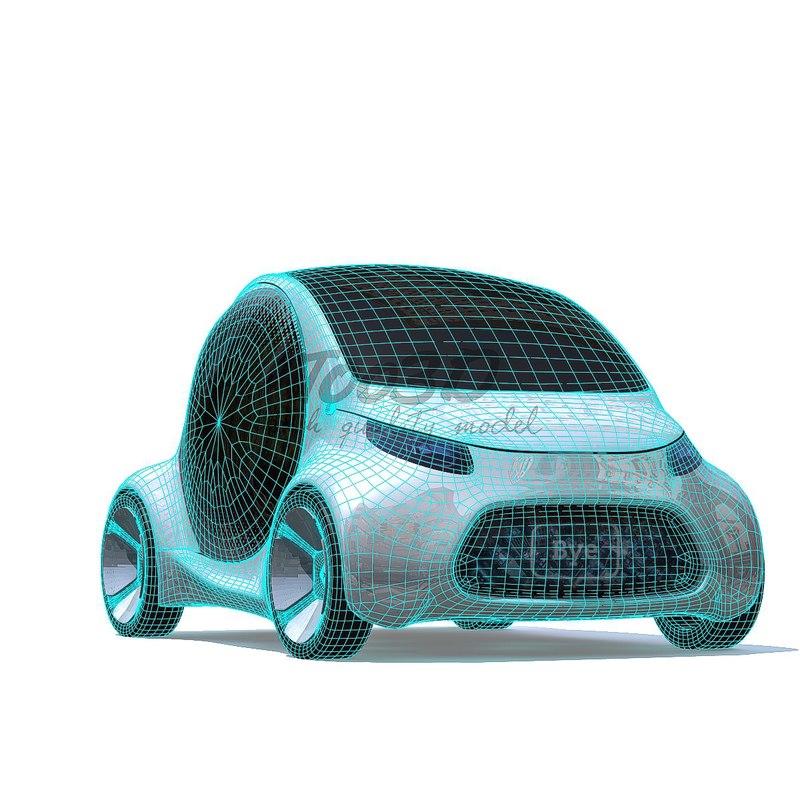 ev concept 3D model