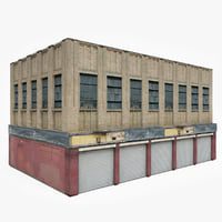 3D ready industrial building