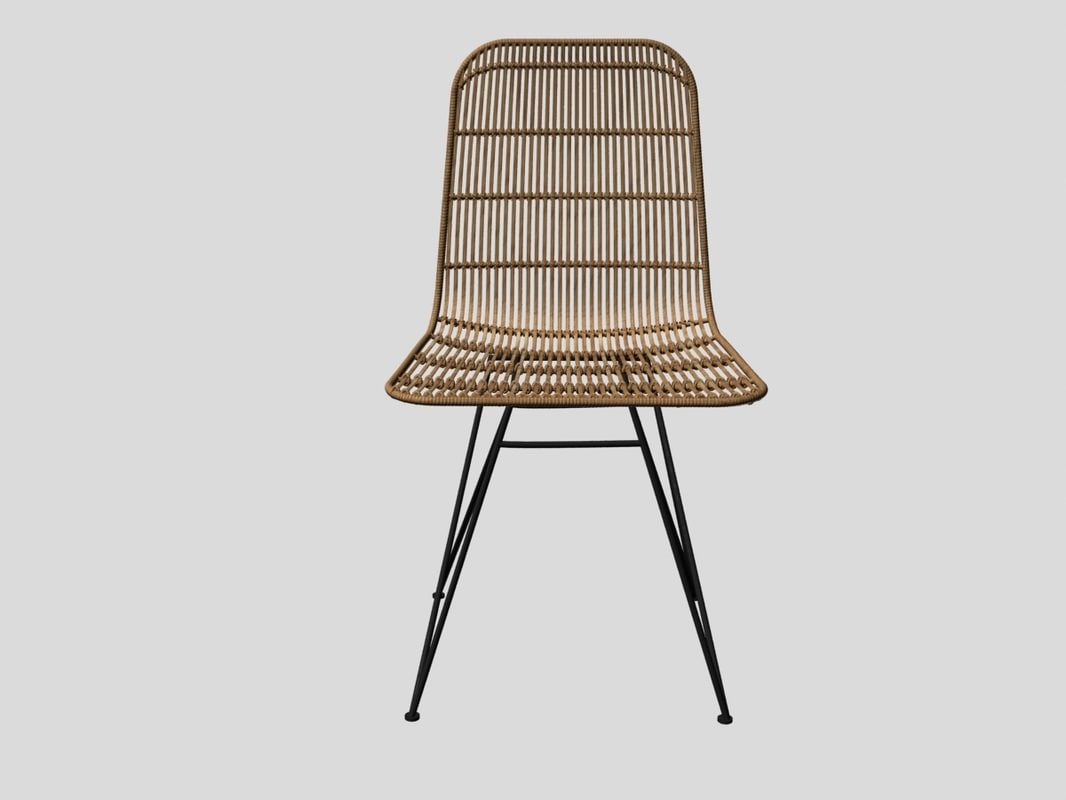 ... 3D Darling Rattan Chair Bloomingville Model ...